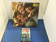 THE MONKEES LP 33 SEALED VINYL RECORD ALBUM W/ THE MONKEES GO MAD BOOK COM-101