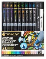 Chameleon Artist Quality Double Ended COLOR TONES PENS DELUXE SET -22ct ~CT2201