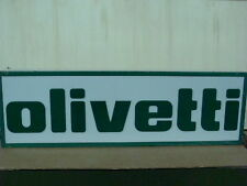 OLIVETTI INSEGNA LUMINOSA ANNI 50 TYPEWRITER SIGN OLD MADE IN ITALY