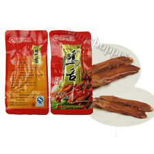 10 PCS CHINESE SPECIALITY FOOD SNACK HOT SAUCE TASTE DUCK TONGUE VACUUM-PACKED