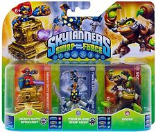 Skylanders Triple Pack D (SF) WII PS3 XBOX360 3DS WIIU PS4 XBOXONE