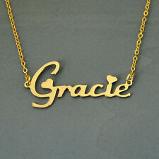Custom name necklace, personalized necklace, Alloy name jewelry, Christmas gift