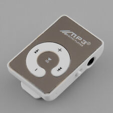Mirror Clip Mp3 Sport Music Player With TF-Card Slot Suppot White Hot