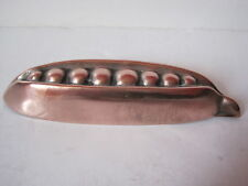 ANTIQUE VICTORIAN COPPER ENTREE' / GARNISHING MOULD - PEA POD