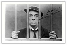 BUSTER KEATON THE GOAT AUTOGRAPH SIGNED PHOTO PRINT