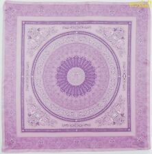 """VERSACE lilac & violet SIRENS & MEDUSA Myth Baroque 34"""" large scarf NEW Authentc"""