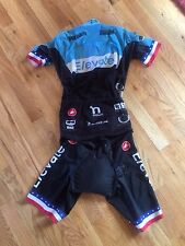 2016 Elevate Pro Cycling Castelli San Remo Suit Size Medium