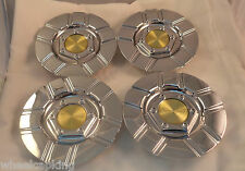 NS Racing Wheels Chrome Custom Wheel Center Cap (4) # MT25 HEDE S1050-2500C NEW!