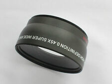 58mm 0.45x Super Wide Angle Macro Lens for Nikon, Canon, Pentax,and Camcorder