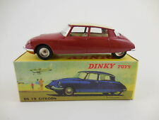 Dinky Toys Atlas Editions 530 Citroen DS 19 Red Cream New in Box NIB