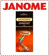 Janome High Shank Adjustable Zipper Foot - NEW Cording Elna Brother New Home
