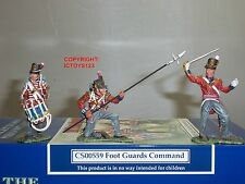 Collectors Showcase cs00559 British 1st Piede Guardie SOLDATINO COMANDO Set
