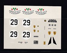 NEW BBR Decal Ferrari 250 ITALIA Nr29  Carrera Panamericana ?????? Scale 1/43