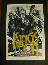 KINGS OF LEON NEWCASTLE 2009 POSTER CD RHYS COOPER not cd vinyl shirt