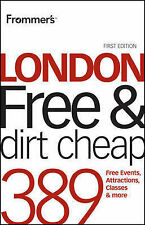 Frommer's London Free and Dirt Cheap FIRST EDITION Guide / Travel Book