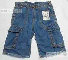 $211 TRUE RELIGION =  SIZE 32 =  MENS CARGO CUT OFF BIG  T SHORTS # META286M60