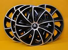 "CITROEN ... 13""  ALLOY LOOK CAR WHEEL TRIMS, COVERS, HUB CAPS, Quantity 4"