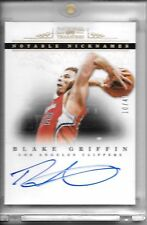2012-13 National Treasures BLAKE GRIFFIN NOTABLE NICKNAMES ON CARD AUTO #10/49!