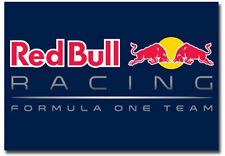 "Red Bull Racing Formula One Team Logo Fridge Magnet Size 3.5"" x 2.5"""