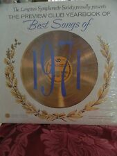 NEW SEALED 1971 LONGINES SYMPHONETTE SOCIETY PREVIEW CLUB YEARBOOK BEST SONGS