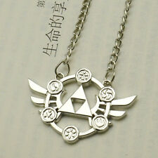 The Legend of Zelda Triforce Metal Silver Necklace Pendant Cosplay