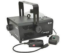 QTX QTFX-900 MKII Smoke Fog Machine 900w inc Wired & Wireless Remote DJ Disco