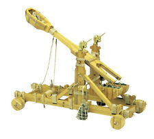 """New, finely detailed wooden model cannon kit by Mantua: the """"Norman Catapult"""""""