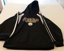 NFL Team Apparel Youth Long Sleeve Pittsburgh Steelers Hoodie Size M (8-10)
