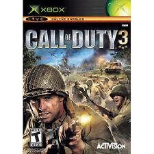 COD Call of Duty 3 [T] XBOX  DISC ONLY
