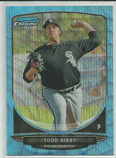 Todd Kibby Chicago White Sox 2013 Bowman Blue Wave Refractor