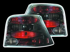 NUOVO VOLKSWAGEN VW Mk4 (98-04) ULTRA NERO POSTERIORI TAIL LIGHTS (UK strada legale)