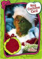 The Grinch Who Stole Christmas Costume Card CC2 Piece of Santa Suit Movie Carey