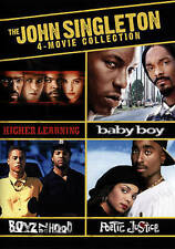 Boyz N The Hood, Baby Boy, Poetic Justice, Higher Learning SINGLETON 4-MOVIE NEW