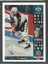 1993-94 Upper Deck McDonald's NHL All Stars - #27 - Pierre Turgeon - Islanders