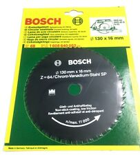 BOSCH 130MM CIRCULAR SAW BLADE 130 x 16 x 64T 1 608 640 052