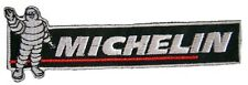 New Michelin logo Tire Racing embroidered iron on patch. 5.3 x 1.75 inch (i130)