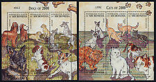 Micronesia 408-9 MNH Dogs & Cats