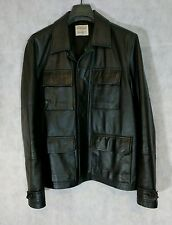 Helmut Lang 1997 Archive Runway Minimal Durable Cargo Leather Jacket 48