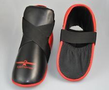 Fußschutz rot-schwarz, Zehentasche, für festen halt. Kickboxen, Karate,Taekwondo