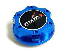 BLUE CNC BILLET RACING ENGINE OIL FILLER CAP FOR NISSAN INFINITI