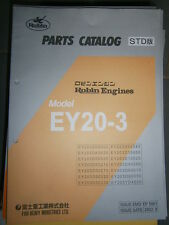 ROBIN Engines EY20-3 : Parts Catalog 08/2002