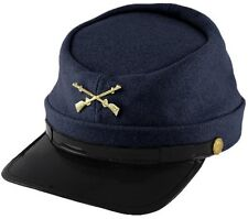 Union Army Infantry Soldier Civil War Reenactor Kepi Wool Hat One Size NEW