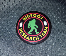 Yeti Sasquatch Finding Bigfoot Research Team 1.5 inch metal promo button