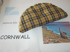 Cornish Cornwall Tartan Pasty Shape Sm Cushion Ring Pillow 27cm Celtic Wedding?