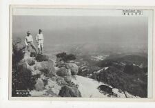 Rokko San Hill From Tengu Iwa Rock Japan Vintage Postcard 492a