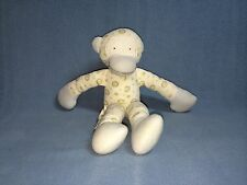 Under the Nile Organic Egyptian Cotton Monkey Stuffed Animal Lovey EUC
