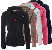 Geographical Norway Damen Lady Sweatjacke Fleece Jacke Fleecejacke Ursula S-XXL