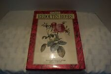 Redoute's Roses Book, P.J. Redoute, 167 Full Page Paintings, 1990