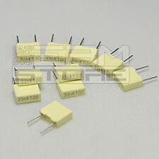 10 pz condensatore poliestere 1n5 100V P=5mm - ART. FU02