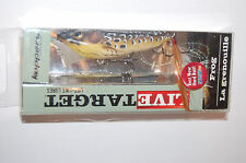 """koppers live target surface lure bass topwater popper frog 3"""" 1/2oz tan brown"""